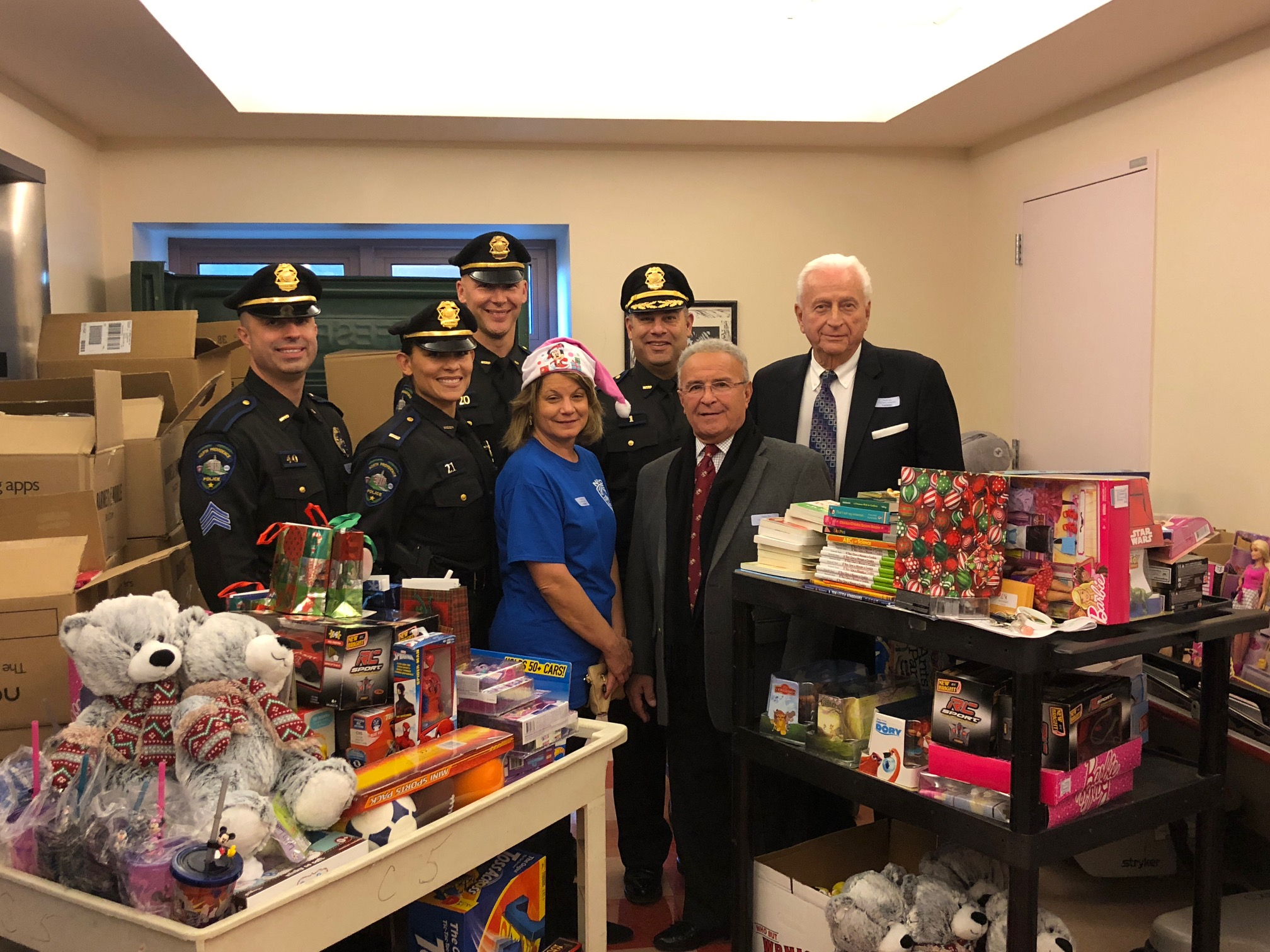 2017 Christmas Toy Drive at Hasbro Childrens Hospital