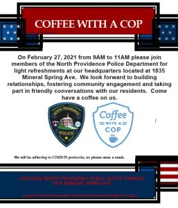 Coffee with a COP image